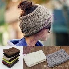 winter headbands 2017 fashion women wide crochet headband hot winter bun