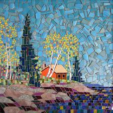 crystal glass mosaic tiles children kids room kitchen backsplash