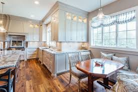 Kitchen Cabinets Buffalo Ny by Taupe Custom Kitchen With Wood Island U0026 Pantry