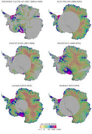 Map Of Antarctica National Snow And Ice Data Center