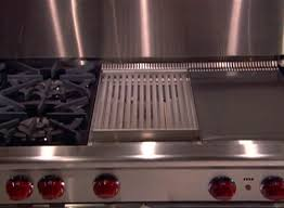 Cooktop With Griddle And Grill Griddle Quick Start Open Burner Gas Ranges And Gas Rangetops