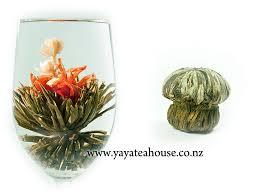 Jasmine Tea Flowers - artisan blooming tea flowering tea tea blossoms display tea