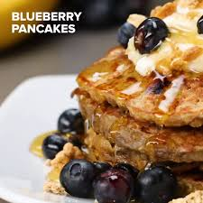 blueberry pancake healthy blueberry pancakes recipe by tasty