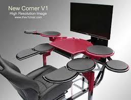 Expensive Computer Desks Expensive Computer Desks Elite Corner V1 Computer Desk White