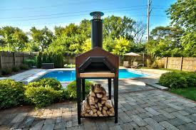 chicago brick oven americano stand pc dr americano wood burning