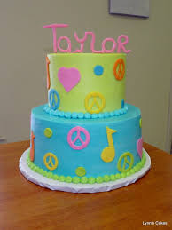 peace love and music birthday cake cakecentral com