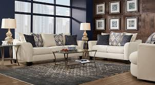 Rooms To Go Sofa Bed Deca Drive Cream 7 Pc Living Room Living Room Sets Beige
