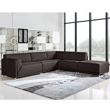Modular Chaise Lounge Moderna 5pc Modular Sectional By Diamond Sofa All World Furniture
