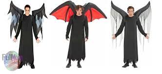 Devil Angel Halloween Costumes Demon Wings Ebay