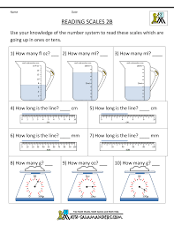 ideas collection maths scale worksheets for sheets huanyii com