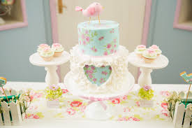 kara u0027s party ideas shabby chic little bird birthday party kara u0027s