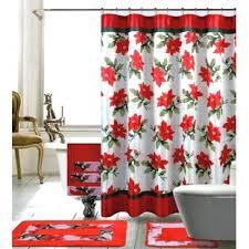 christmas shower curtain sets wayfair
