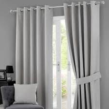 Dunelm Mill Nursery Curtains Solar Grey Blackout Eyelet Curtains Dunelm