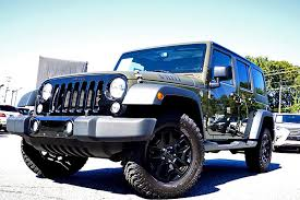 Used Jeep Wrangler Unlimited 2015 Used Jeep Wrangler Unlimited 4wd 4dr Willys Wheeler At Alm