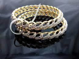 daphne sparkling ad studded bangles unquie design best gift for