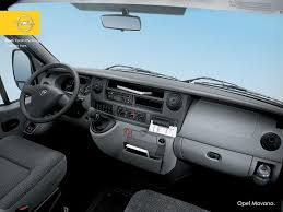 opel signum interior opel movano brief about model