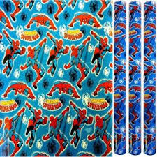 birthday gift wrap 3x5m marvel comics birthday present wrapping foil paper
