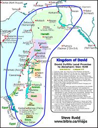 kingdom of david fulfills abraham u0027s land promise 1003 1001 bc 2