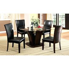 Used Round Tables And Chairs For Sale Used Glass Top Dining Table And Chairs With Wooden Base Wrought