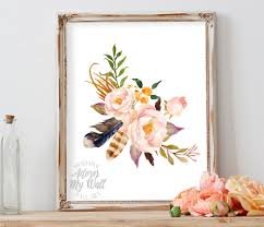 Home Decor Etsy by 50 Off Floral Print Printable Art Floral Wall Art Floral Art