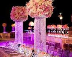 lighted centerpieces for wedding reception wedding chandelier etsy