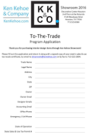 designer program ken kehoe company showroom