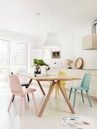 Scandinavian Dining Room Chairs Scandinavian Dining Set Unpolished Teak Wood Extendable Dining