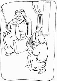 coloring download david and mephibosheth coloring page king david