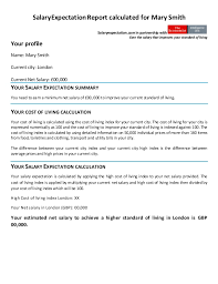 Expected Salary In Resume Sample by Surprising Resume Format With Salary Expectation 46 For Your