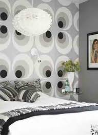 Modern Wallpaper Bedroom Designs Bedroom Wallpaper In Black White And Gray One Wall Decoration