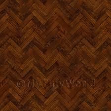 Laminate Flooring Parquet Effect 1 12th Wood Parquet Dolls House Miniature Mytinyworld