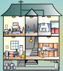 house inside clipart collection