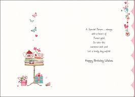 to someone special u2013 happy birthday wishes u2013 card ebay
