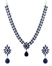 blue stones necklace images Buy designer necklace sets traditional necklace set studded with jpg