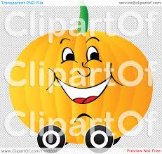 pumpkin no background clipart happy pumpkin on wheels royalty free vector illustration