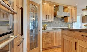 Kitchen Interior Doors A Glass Pantry Door In The Kitchen Door Design