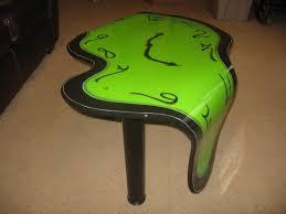 Clock Coffee Table Pragmatic Effects New Melting Clock Coffee Table