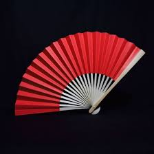 folding fans bulk 9 paper fans for weddings premium paper stock 10 pack