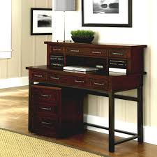 Corner Desk Cherry Wood by Delightful Furniture For Home Office Decoration Using Light Yellow
