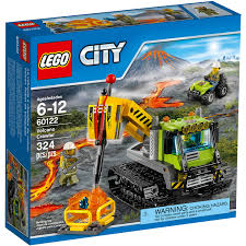 Lego Headquarters Lego City Volcano Explorers Volcano Crawler Building Set 60122