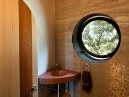 eclectic dish ring holder images San luis obispo small powder rooms room eclectic with round window jpg