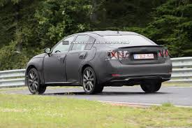 lexus es next generation first spy shots of 2013 lexus gs sedan