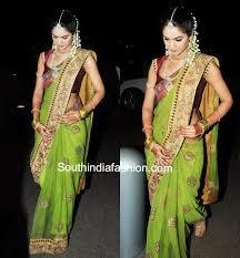 engagement sarees the royal wedding of allu arjun and sneha reddy saree royal