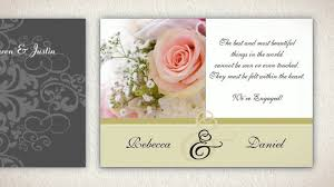 Engagement Party Invitation Cards Custom Engagement Party Invitations Youtube