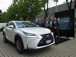 lexus luxe merk van lexus brengt miljoenste hybride auto op de baan u2013 fleet be