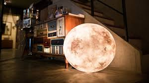 Moon Light For Bedroom by The Visually Stunning Luna Lamp Brings The Moon Right Into Your