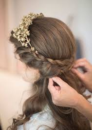 wedding hairstyles for medium length hair half up wedding hairstyles half up half medium length tbrb info