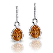 citrine earrings 61 best citrine earrings images on citrine earrings