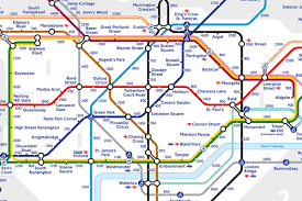 New York Tube Map by New Tfl Tube Map Reveals How Many Steps There Are Between Stations