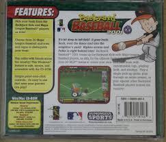 game pc backyard baseball 2001 new sealed